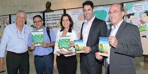 Exposição de cartoons em Campinas aborda prevenção às drogas