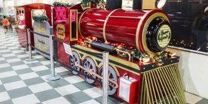 Supermercado Buona Gente estreia decoração de Natal em Artur Nogueira