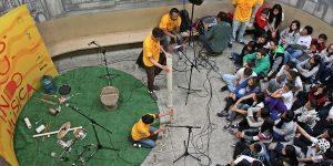 Campinas oferece Pocket Show feito com instrumentos de material reciclado
