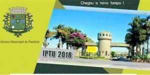 Contribuintes de Paulínia podem pagar cota única do IPTU até 30 de abril