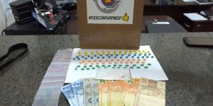 PM apreende 104 comprimidos de ecstasy em Cosmópolis