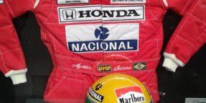 Capacete do Airton Senna será leiloado em Campinas