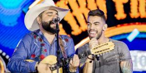 Léo&Raphaelrealizam o show em Campinas