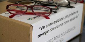 Campanha de doação de óculos beneficia alunos em Vinhedo