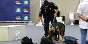 Torneio de Cães de Polícia tem vencedores da RMC