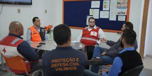 Valinhos fecha parceria entre Defesa Civil e Cruz Vermelha