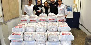 Evento de Crossfit arrecada 100 cestas básicas em Americana