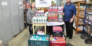 Fundo Social recebe 651 litros de leite após celebração em Americana