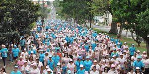 Caminhada Azul e Rosa acontece neste sábado em Mogi Guaçu