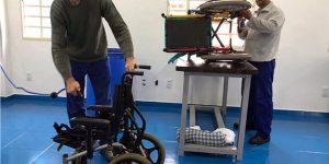 Casa da Criança Paralítica implanta oficina para recuperação de cadeiras de rodas