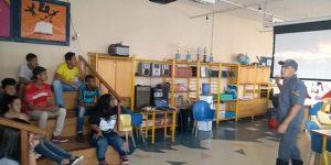 Escolas de Jaguariúna recebem palestras contra queimadas em área urbana