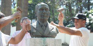 Prefeitura de Valinhos precisa retirar monumentos após série de furtos