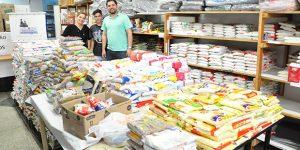 Americana entrega 4,5 toneladas de alimentos para o Fundo Social