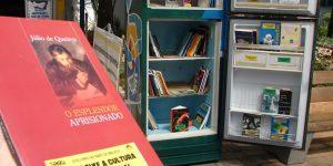 Cidades da RMC poderão ganhar geladeira de livros