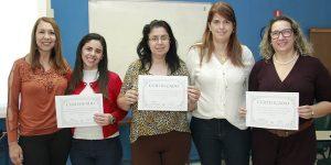 Ministério do Trabalho premia educadoras de Jaguariúna