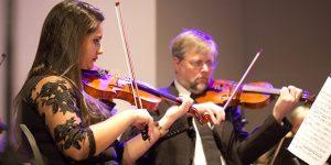 Orquestra toca em comemoração ao aniversário de Mogi Mirim