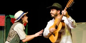 Holambra recebe peça de teatro com música ao vivo
