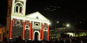 Vila Natalina recebe Show de Luzes em Itatiba