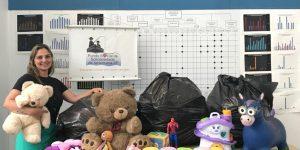Fundo Social recebe a doação de 300 brinquedos em Americana
