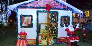 Projeto Luzes de Natal 2018 encanta visitantes em Pedreira