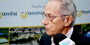 Especialista fala dos desafios da educação no Brasil em Aula Magna na UniFAJ