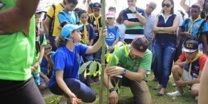 Plantio Global reúne centenas de participantes em Itatiba