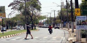 Campanha educativa no trânsito prioriza pedestres em Mogi Mirim