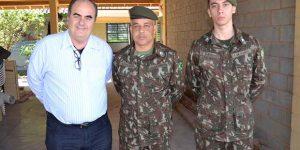 Exército vistoria obras de reforma do prédio que sediará o Tiro de Guerra de Pedreira
