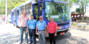 Morungaba recebe ônibus novo para linha intermunicipal
