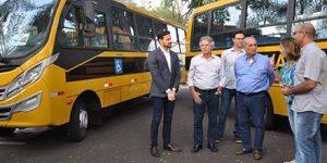 Americana recebe novos ônibus escolares