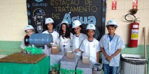 Alunos de Hortolândia expõem trabalhos sobre água e saneamento no projeto Gota D'Água
