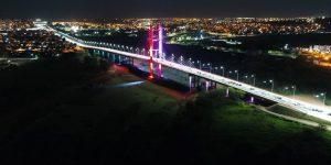 Hortolândia inaugura novo sistema de iluminação decorativa da Ponte da Esperança