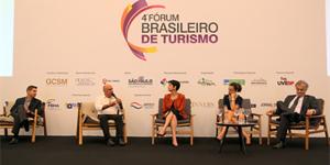 Prefeito de Morungaba participa do 4º fórum Brasileiro de turismo
