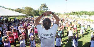 """""""De Bem com a Vida"""" leva atividades de esporte e saúde para Hortolândia"""