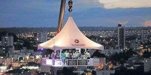 Holambra recebe Festival de Cervejas Artesanais com o inusitado Bar nas Alturas