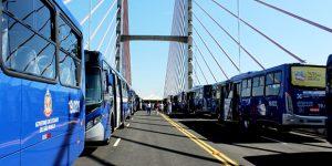 RMC se beneficia com entrega de novos ônibus intermunicipais
