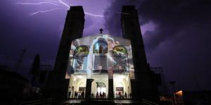 Espetáculo com projeção de luzes e imagens integra programação de Natal de Vinhedo