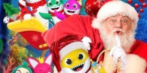 """Espetáculo infantil """"O Natal da Família Tubarão"""" acontece em Valinhos"""