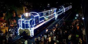 Expresso Paulista iluminado vai abrilhantar Natal do Bem em Sumaré