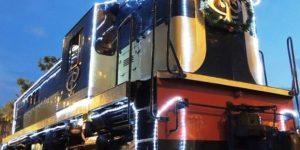 O encantador 'Expresso Noel' faz viagem noturna em Campinas