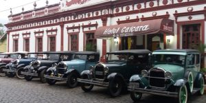 Encontro de Carros Antigos na Festa do Figo de Valinhos traz preciosidades