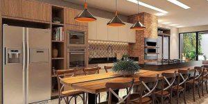 Confira o sucesso dos espaços gourmet nas casas e apartamentos de 2020