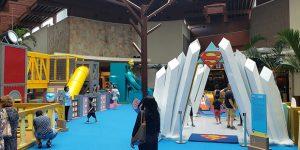 Atração em Shopping de Campinas traz versão baby de super-heróis