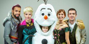 """Campinas recebe espetáculo inspirado no musical """"Frozen"""""""
