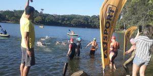 Lagoa do Taquaral em Campinas recebe provas de Aquathlon e Maratona Aquática