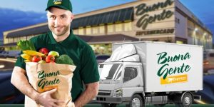 Buona Gente Express, primeiro supermercado online da região, está com entregas grátis