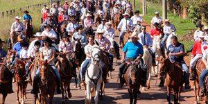 Associação dos Cavaleiros de Itatiba promove cavalgada