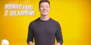 Rodrigo Faro é o novo embaixador da Solarprime!